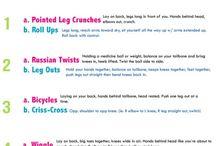 Workout ideas / by Teresa Bileck