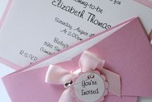Baby shower / Invitations, decor, games, food & gifts ideas