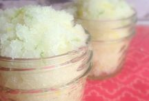 DIY FACE/BODY/FOOT SCRUBS