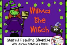 Halloween Songs / Fun songs with a Halloween theme!  Great for Shared Reading! Kindergarten and1st graders LOVE these!