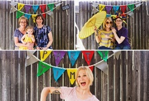 Photo Booth Love / Ideas for creating the perfect photo booth at your wedding or event. / by Studio Style Photo Folders & Frames