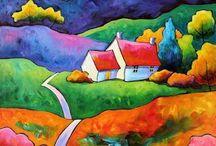 Artist Gillian Mowbray