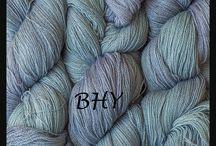 Yarn-Hand-Dyed Silk Merino Lace