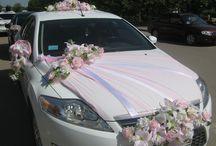 Wedding car / Украшение свадебного автомобиля - это не просто цветочки и бантики на капоте. Это правильно подобранная композиция в едином цветовом решении и стилевой концепции всего торжества.