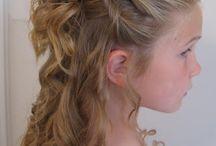 kids wedding hairstyle