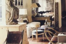 Interiors / True Blue! At home with CHFVA #www.cathfrei.com