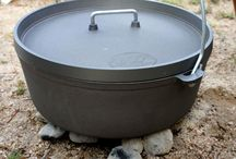 dutch oven cooking / by Vivian Morris