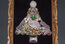 Jeweled Christmas Trees / by Connie Andrade