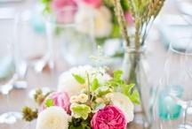 Centros de mesa diferentes / Wedding centerpieces
