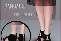 Chaussure femmes - Sims 3