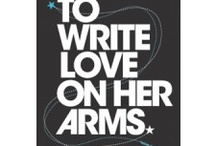 to write love on her arms / by Amanda Wagner