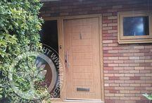 Solidor - Irish Oak Timber Composite Doors /  Solidor Timber Composite Doors #compositedoors #compositedoors #solidorcompositedoor #timbercompositedoors
