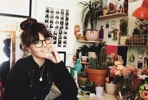 Ella masters studio / From my desk in London