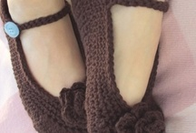 Crochet shoes& easy shoes made
