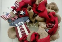 wreaths! / by Kelley Cunningham