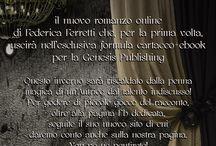 La rugiada della notte, #noiciamiamo / Il nuovo libro/romanzo online di Federica Ferretti.  Dalle card ai teaser che stanno arrivando, aspettando l'uscita del romanzo vero e proprio, prevista in inverno, per la prima volta anche in cartaceo. L'ennesimo esperimento multimediale, l'evoluzione del romanzo online che tutti aspettavate, pensata per chi crede all'amore impossibile e alle sue sfaccettature. Legato a doppio filo alla campagna di #stopfemminicidio e #pariopportunita,dal titolo #noiciamiamo