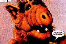 ALF / ALF is an American sitcom that aired on NBC from September 22, 1986 to March 24, 1990. It was the first television series to be presented in Dolby Surround sound system.  The title character is Gordon Shumway, a friendly extraterrestrial nicknamed ALF (an acronym for Alien Life Form), who crash lands in the garage of the suburban middle-class Tanner family.