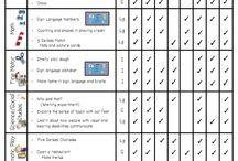 Kindergarten: Lesson planning