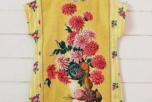 TEA TOWEL and TABLE NAPKIN INSPIRATION