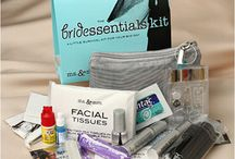 Wedding Emergency Kits / All the essentials a bride needs for those unexpected needs on here wedding day.