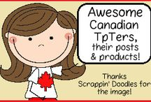 Canadian TpTers, their posts & products! / Awesome Canadian TpTers, you are welcome to pin here! Resources for the Canadian elementary school classroom. Please maintain a 1:1 paid:freebie or post ratio. To join, please follow and email iam@thatfunreadingteacher.com. / by That Fun Reading Teacher
