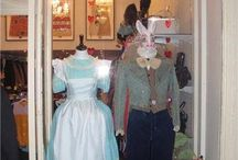 Alice in Wonderland Window Display