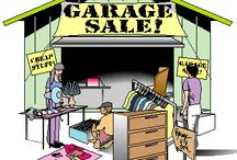 Items For Sale / Garage Sale, Yard Sale, Auction or Just Spring Cleaning Time / by Donald McQuaig