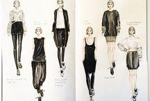 fashion design skatches