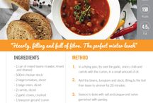 Recipes To Inspire / Delicious recipes to support an active lifestyle