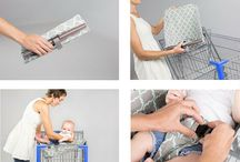How to Use Binxy Baby / Baby gear and products for baby shower, registry. Featuring the genius invention Binxy Baby, portable shopping cart hammock for babies that makes grocery shopping a breeze.