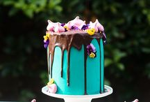 Drip Cakes / Fab new way of cake making. Move over 'pretty, polite, flower in the right place' type of cake, drip cakes are here to stay!