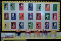 school art class ideas / by Dawn Solomon