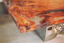 Мебель из эпоксидной смолы