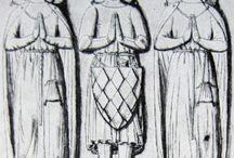 Later drawings of medieval effigies