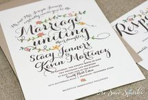 Wedding Stationery Ideas / by D Marie Bass-Keller