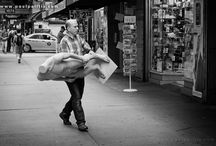 Street Photography / Black and white street photography