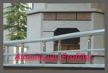 balustrade / Aluminium balustrade
