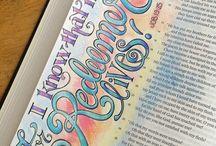 Bible Journaling - Job