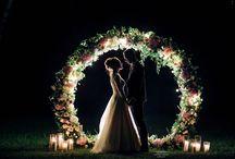 Пудрово-розовая свадьба в Лесной Даче