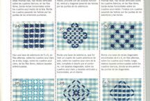 Gingham embroidery