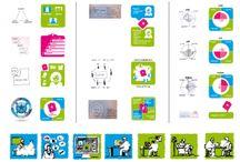 Multimedia design / Ontwerpen van interactieve digitale producten of diensten, zoals webdesign, interactieve animaties, games en apps.