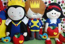 """Festa Branca de Neve / Snow White Party / Tudo sobre a festa tema """"Branca de Neve"""" das minhas filhas /  Everything about my girls Snow White party."""