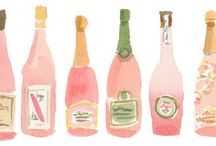 Акварельное вино
