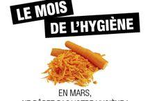 Le mois de l'Hygiène / En mars, ne râpez pas votre hygiène avec notre sélection de produits du moment !