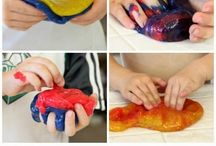 Ideas for the Co-op - Dough, Slime, Gak, Oobleck, Clay / Inspriations for all things doughy, slimey & gakky / by Jennifer Crowell
