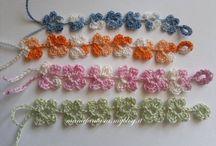 lavoretti / lavori  a mano maglia uncinetto