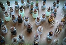 Flaske dekoration