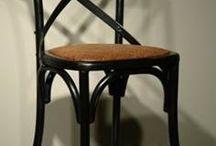 židle wood black