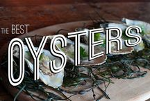 Oysters / If you can throw back a dozen like it's your job, here's a list of the best oysters for you.