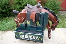 Coin-Operated Rides / I always loved these as a child - especially the horses! / by Patti Elliott Di Loreto